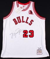 Michael Jordan Signed 1984-85 Bulls Authentic On-Court Jersey with Rookie of the Year Patch (UDA COA)