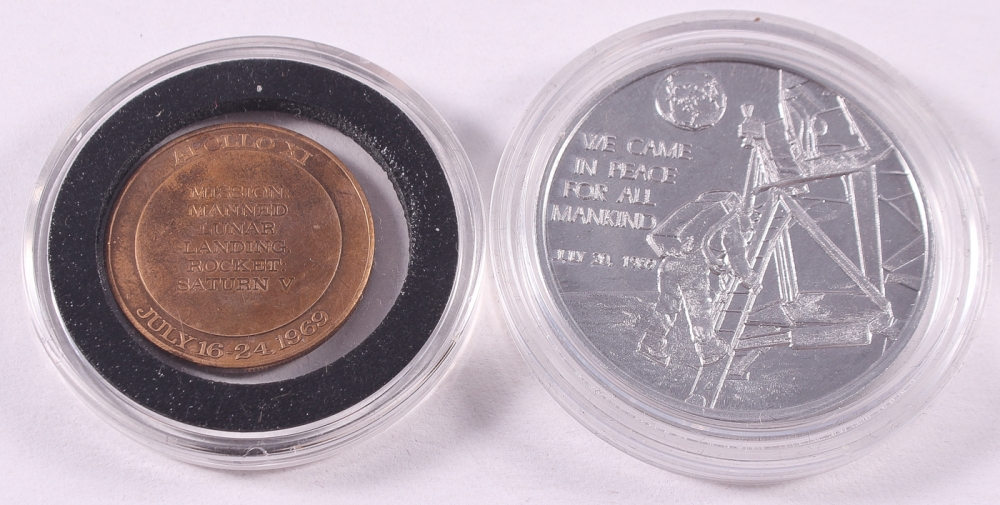 apollo 11 moon landing commemorative coin - photo #35