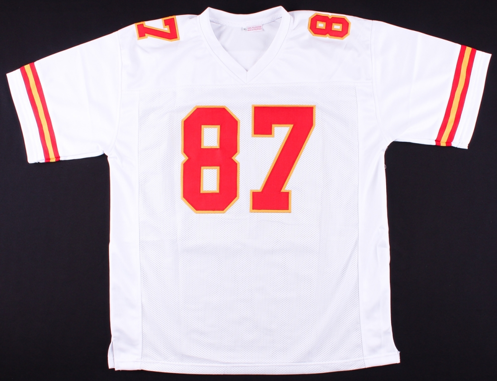 8243507ab Travis Kelce Signed Chiefs Jersey (JSA COA   Kelce Hologram) at  PristineAuction.com
