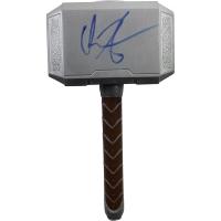 "Chris Hemsworth Signed ""Thor"" Mini Hammer (PSA)"