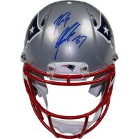 Rob Gronkowski Signed Patriots Full-Size Authentic Proline Speed Helmet (Steiner COA)