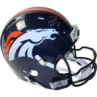 Peyton Manning Signed Broncos Full-Size Authentic Pro-Line Revolution Helmet (Fanatics Hologram & Steiner COA)