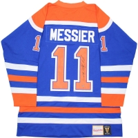 Mark Messier Signed Oilers Mitchell & Ness Jersey (Steiner COA)