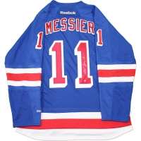 Mark Messier Signed Rangers Captain Jersey (Steiner COA)
