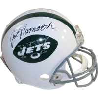 Joe Namath Signed Jets Full-Size Authentic Proline Throwback Helmet (Steiner COA)