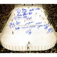 1994 Rangers 20x24 Photo Team-Signed by (26) with Mark Messier, Brian Leetch, Mike Richter (Steiner COA)
