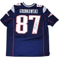 Rob Gronkowski Signed Patriots Jersey (Steiner COA)