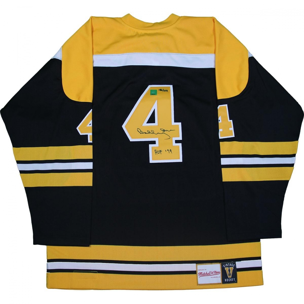 febab7a38 ... Authentic Mitchell Ness Bruins Jersey Inscribed Bobby Orr Signed Bruins  LE Jersey Inscribed ...