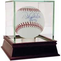 "Derek Jeter Signed OAL Baseball Inscribed ""ROY 96"" with High Quality Display Case (MLB)"
