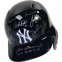"New York Yankees ""Dynasty"" Full-Size Batting Helmet Team-Signed by (11) with Derek Jeter, Mariano Rivera, Andy Pettitte, Bernie Williams (Steiner COA)"