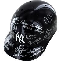 1978 New York Yankees Batting Helmet Team-Signed by (15) with Goose Gossage, Reggie Jackson, Bucky Dent (Steiner COA & MLB)