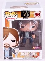 "Norman Reedus Signed Biker Daryl ""The Walking Dead"" Pop! Vinyl Figurine (Radtke COA)"