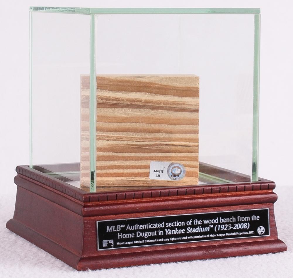 Dugout Bench Online Sports Memorabilia Auction Pristine Auction