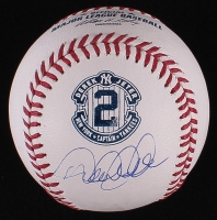Derek Jeter Signed 2014 Yankees Retirement OML Baseball (MLB Hologram & Steiner COA)