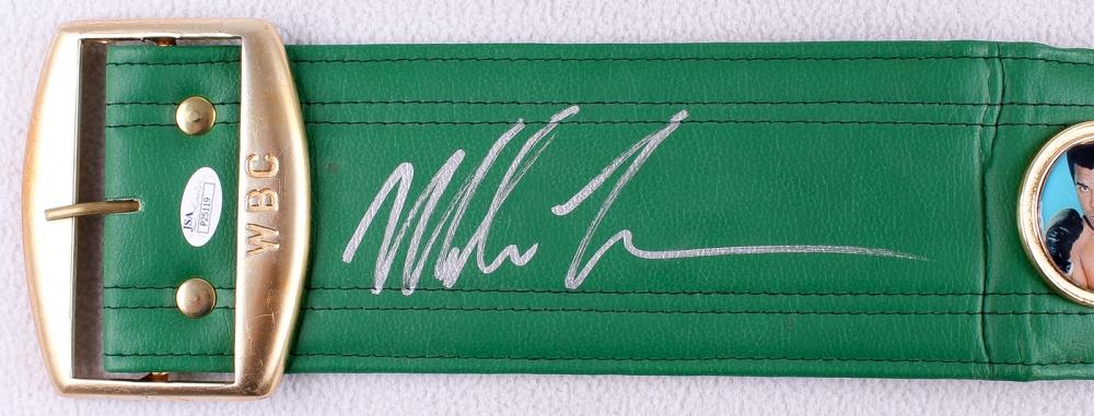2b3779ac2de Mike Tyson Signed WBC High Quality Replica Full-Size Belt (JSA COA) at