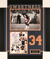 "Walter Payton Signed Bears 23x27 Custom Framed Photo Inscribed ""Sweetness"" & ""16,726"" (Payton COA)"