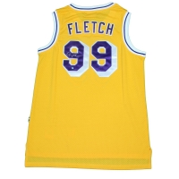"Chevy Chase Signed ""Fletch"" Lakers Jersey (Steiner COA)"