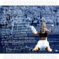 Brandi Chastain Signed 16x20 World Cup Photo with Handwritten Story Inscription (Steiner COA)