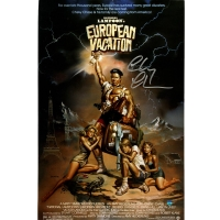 """Chevy Chase Signed """"National Lampoon's European Vacation"""" 11x17 Photo (Steiner COA)"""