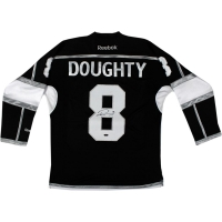 Drew Doughty Signed Kings Jersey (Steiner COA)