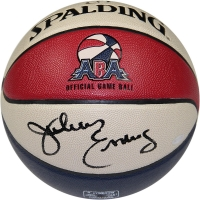Julius Erving Signed ABA Official Game Basketball (Steiner COA)