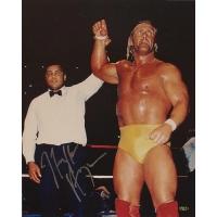 "Hulk Hogan Signed ""With Ali"" 16x20 Photo (Steiner COA)"
