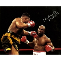 Evander Holyfield Signed 8x10 Photo (Steiner COA)