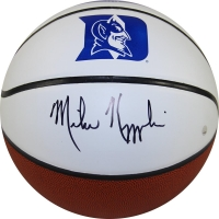 Mike Krzyzewski Signed Duke University Logo Basketball (Steiner COA)