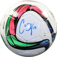 Carli Lloyd Signed Adidas Conext15 Soccer Ball (Steiner COA)