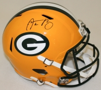 Aaron Rodgers Signed Packers Full-Size Speed Helmet (Radtke COA & Fanatics Hologram)
