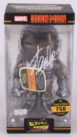 "Stan Lee Signed ""Iron Man Raw Steel"" Marvel Hikari Vinyl Action Figure (Radtke COA) at PristineAuction.com"