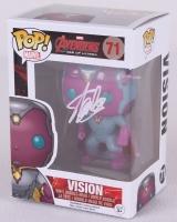 """Stan Lee Signed Vision """"Avengers"""" Marvel POP! Vinyl Figure (Lee Hologram)"""