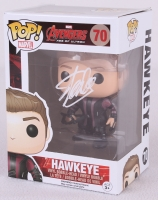 "Stan Lee Signed Hawkeye ""Avengers"" Marvel POP! Vinyl Figure (Lee Hologram)"