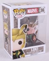 """Stan Lee Signed """"Loki"""" Marvel POP! Vinyl Figure (Lee Hologram)"""