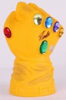 """Stan Lee Signed Full Size Marvel """"Infinity Gauntlet"""" Bank (Lee Hologram)"""