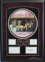 "Jerry Lee Lewis, Roy Orbison, Carl Perkins & Johnny Cash Signed ""Class of 55"" 20x27 Custom Framed Record Album Display (JSA COA)"