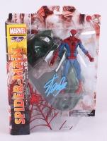 """Stan Lee Signed """"Spider-Man"""" Marvel Select Action Figure (Lee Hologram)"""