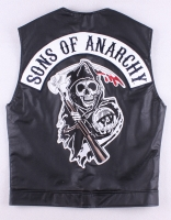 """Sons of Anarchy"" Vest with Reaper Patch (Size L)"
