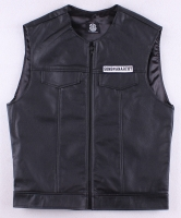 """Sons of Anarchy"" Vest with Reaper Patch (Size L) at PristineAuction.com"