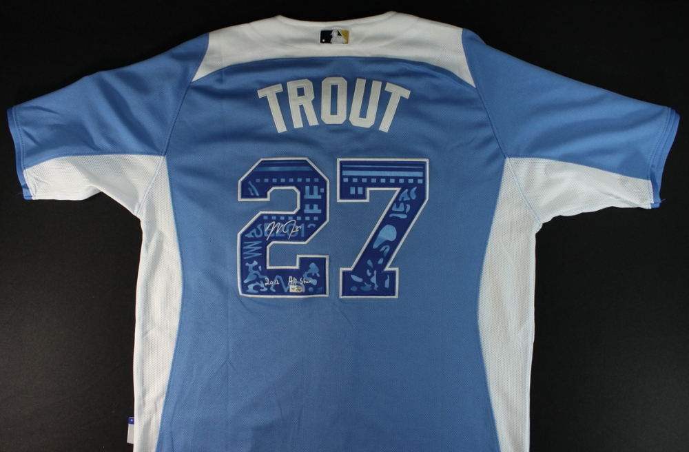 lower price with 711d9 97758 france mike trout all star jersey youth ece84 b00dd