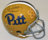 "Tony Dorsett Signed Pittsburgh Panthers Full-Size TK Suspension Helmet Inscribed ""76 Heisman"" (Radtke COA)"