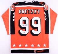 Wayne Gretzky Signed 1984-85 All-Star Game Mitchell & Ness Authentic On-Ice Hockey Captain Jersey (UDA COA)