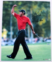 "Tiger Woods Signed LE 16x20 Photo Inscribed ""Tiger Roars"" (UDA COA)"