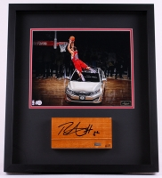 Blake Griffin Signed LE 2011 NBA All-Star Game 20x23 Custom Framed Authentic Game-Used Floor Piece (Panini COA)