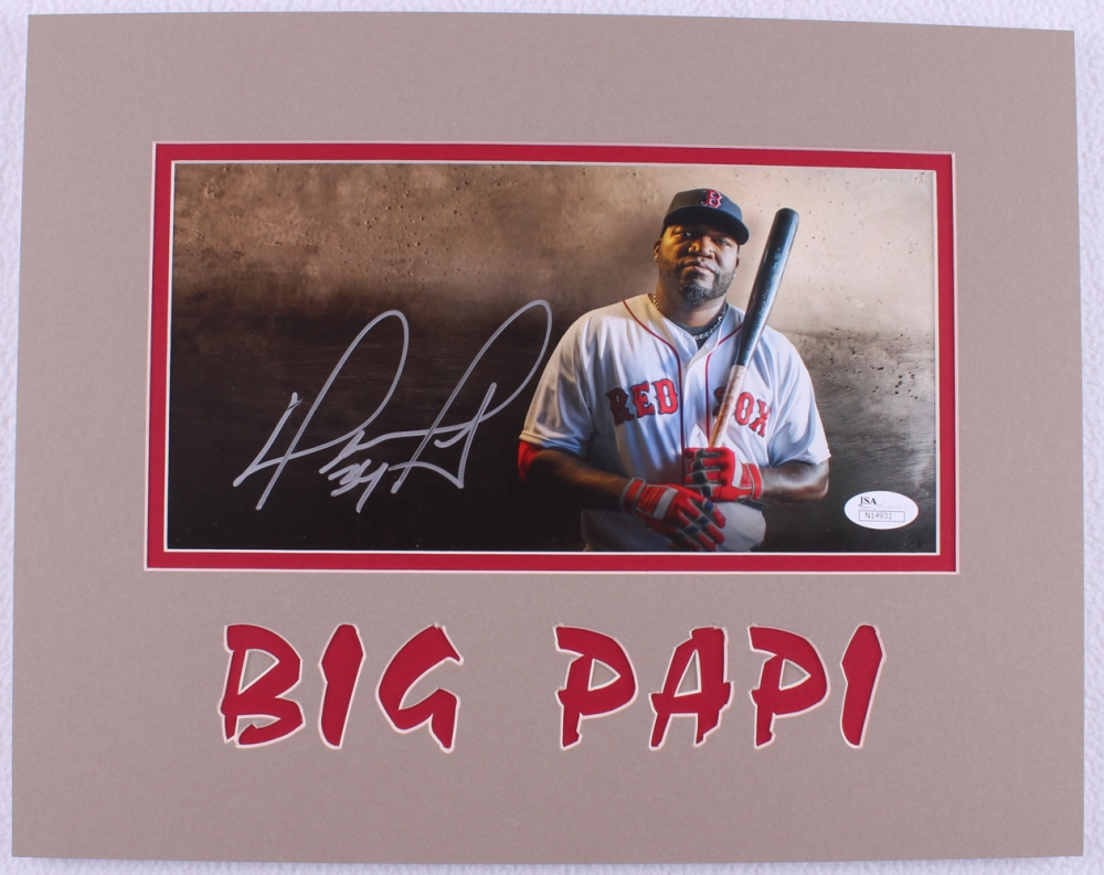 on sale 2d907 0d456 David ortiz signed memorabilia : Can you use us currency in ...