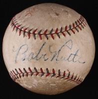 Babe Ruth Single Signed OAL Baseball (PSA LOA)