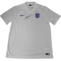 Steven Gerrard Signed Nike Team England Jersey (Icons COA)