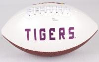 Odell Beckham Jr. Signed LSU Tigers Logo Football (JSA COA) at PristineAuction.com