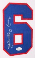 """Julius """"Dr. J"""" Erving Signed 76ers 35x43 Custom Framed Jersey (JSA COA) at PristineAuction.com"""