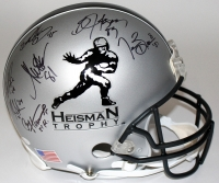 Heisman Trophy Full-Size Authentic Pro-Line Helmet Signed & Inscribed by (21) winners with Bo Jackson, Jameis Winston, Marcus Allen, Marcus Mariota, Tim Brown (JSA COA & Player Holograms) at PristineAuction.com
